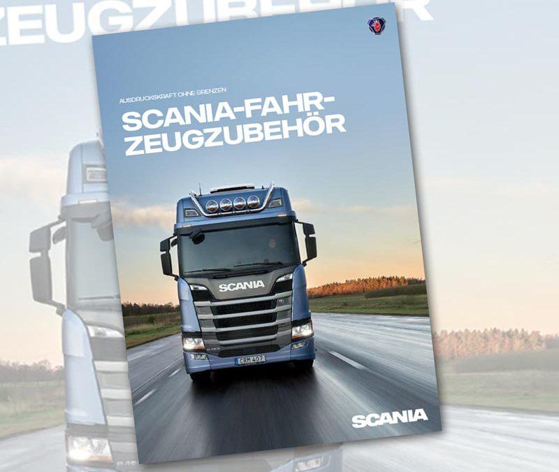 Scania Zubehör - neuer Katalog