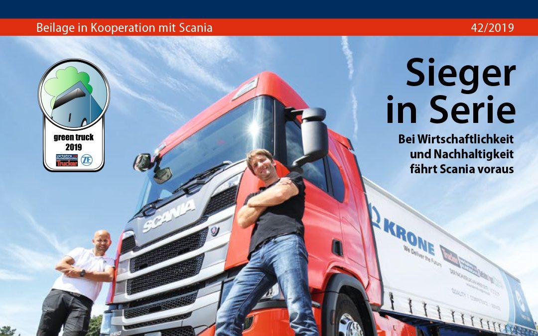Scania ist Green Truck 2019